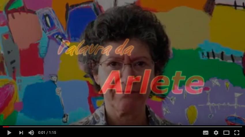 Palavras da Arlete